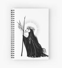 The Dark Queen Spiral Notebook
