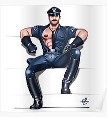 Gay leather art
