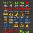Know Your Car Warning lights Mechanics Funny Sarcastic Graphic Tee Shirts by DesIndie