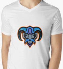 Hades Greek God Head Mascot Men's V-Neck T-Shirt