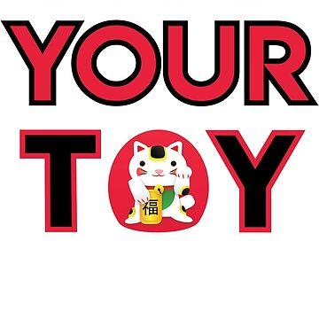 Not Your Toy - Netta Merchandise - Feminism - Eurovision Merch by Halla-Merch