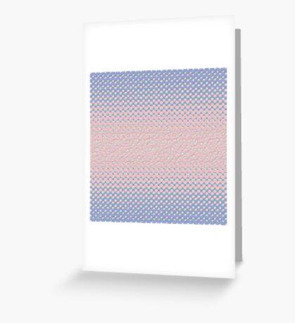 #DeepDream Color Circles Gradient Rose Quartz and Serenity 5x5K v1449298379 Greeting Card