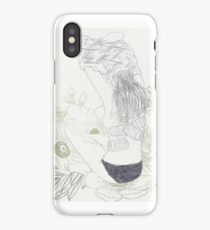 Hurting a little iPhone Case