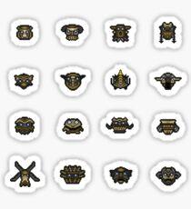 The 16 Colossi Sticker