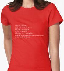 Premiere Error - Media Offline Women's Fitted T-Shirt