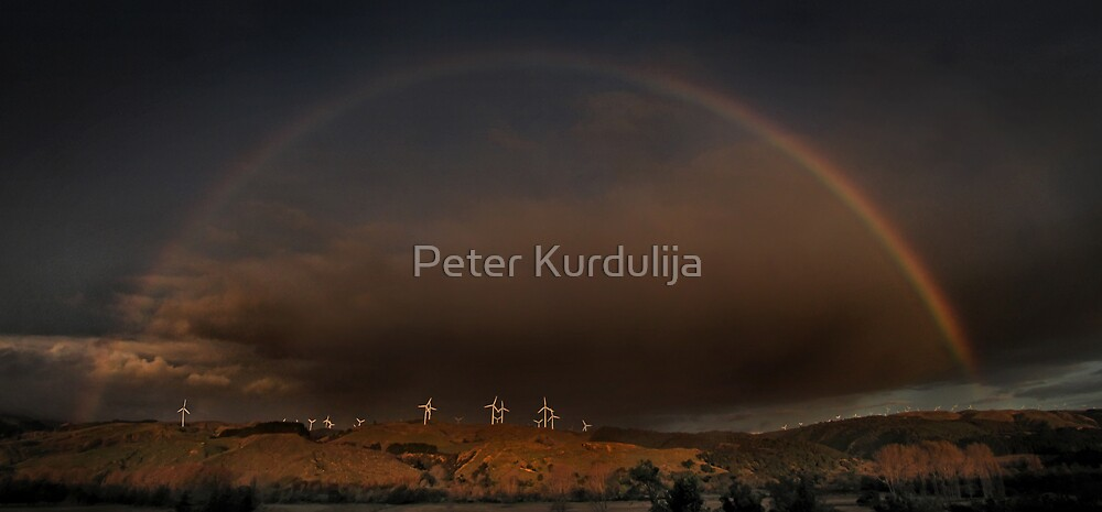 Between The Ends of a Rainbow by Peter Kurdulija