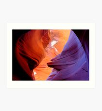 Lower Antelope Slot Canyon, Arizona Art Print