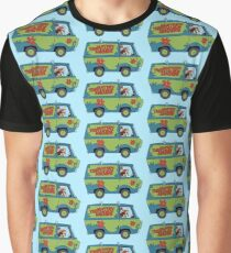 Mysterious Vehicle Graphic T-Shirt