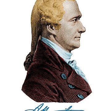 Alexander Hamilton by randomarthouse