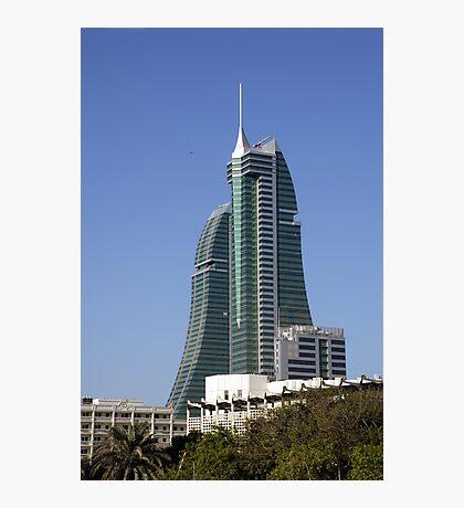 Bahrain Financial Harbour Photographic Print