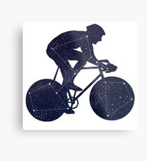 Bikestellation Metal Print