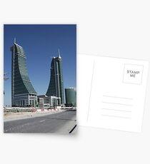 Bahrain Financial Harbour Postcards