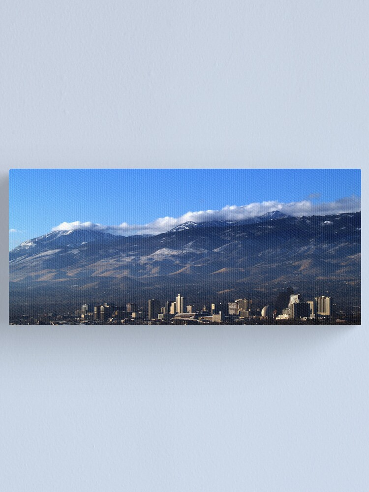 Alternate view of Reno & Rose Canvas Print