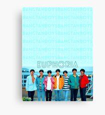 BTS Euphoria Canvas Print