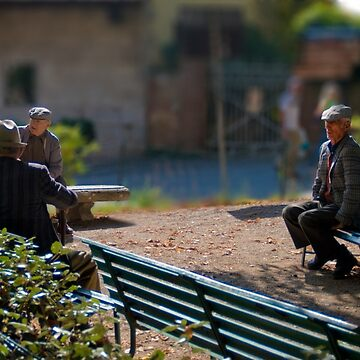 The outsider, Pienza, Tuscany, Italy by AndyJones