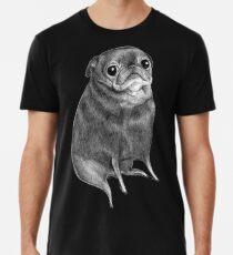 Sweet Black Pug Men's Premium T-Shirt