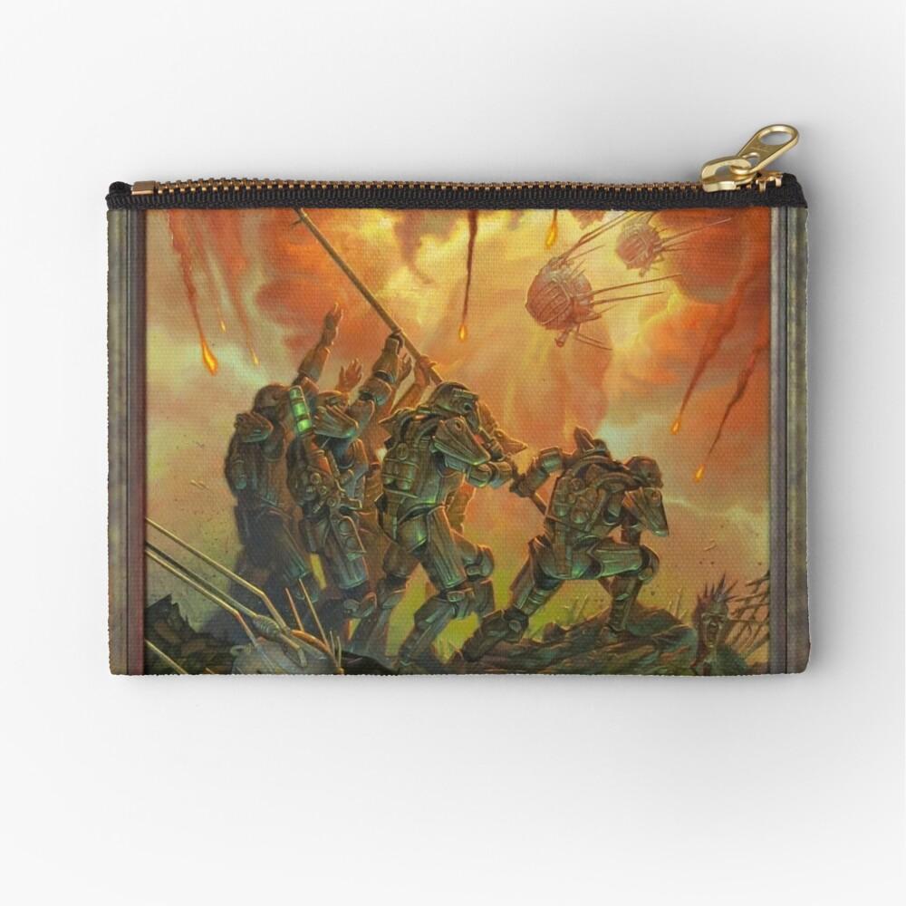 Fallout-Bruderschaft des Stahls Victory Fan Art Poster Täschchen