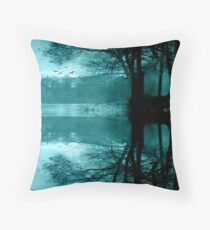 Cyan Throw Pillow