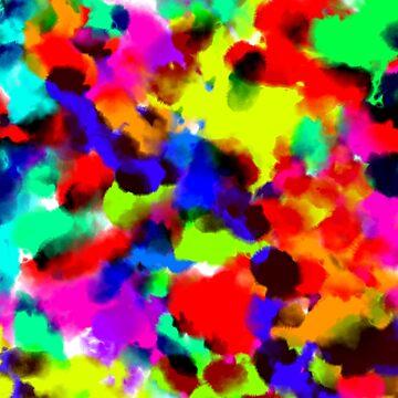 Watercolour Splatter by TheTimekeeper
