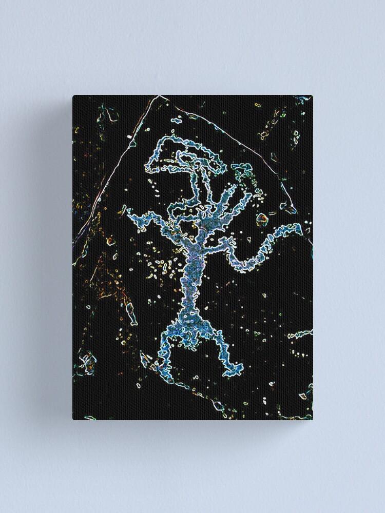 Alternate view of Rock Art Peacepipe Canvas Print