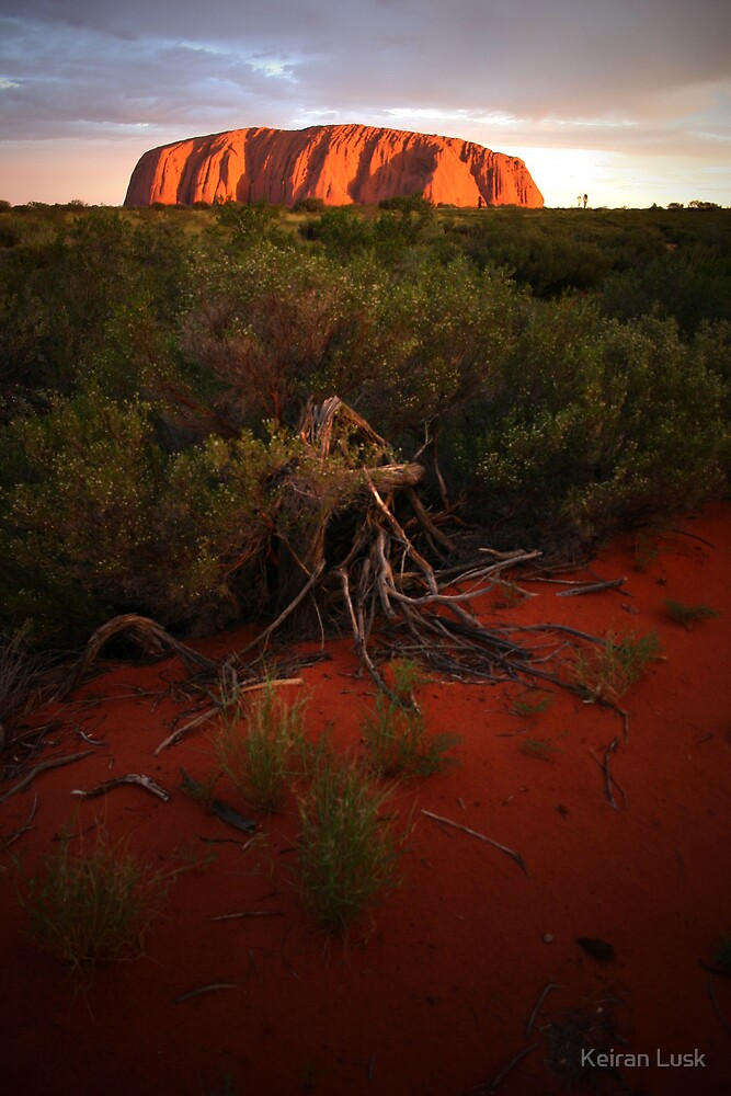 Uluru at Sunset by Keiran Lusk