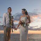 Waikiki Sunset by Jimson Carr