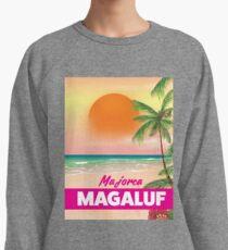Magaluf Majorca beach travel poster Lightweight Sweatshirt