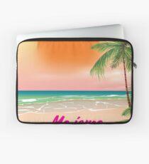 Magaluf Majorca beach travel poster Laptop Sleeve