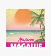 Magaluf Majorca beach travel poster Scarf