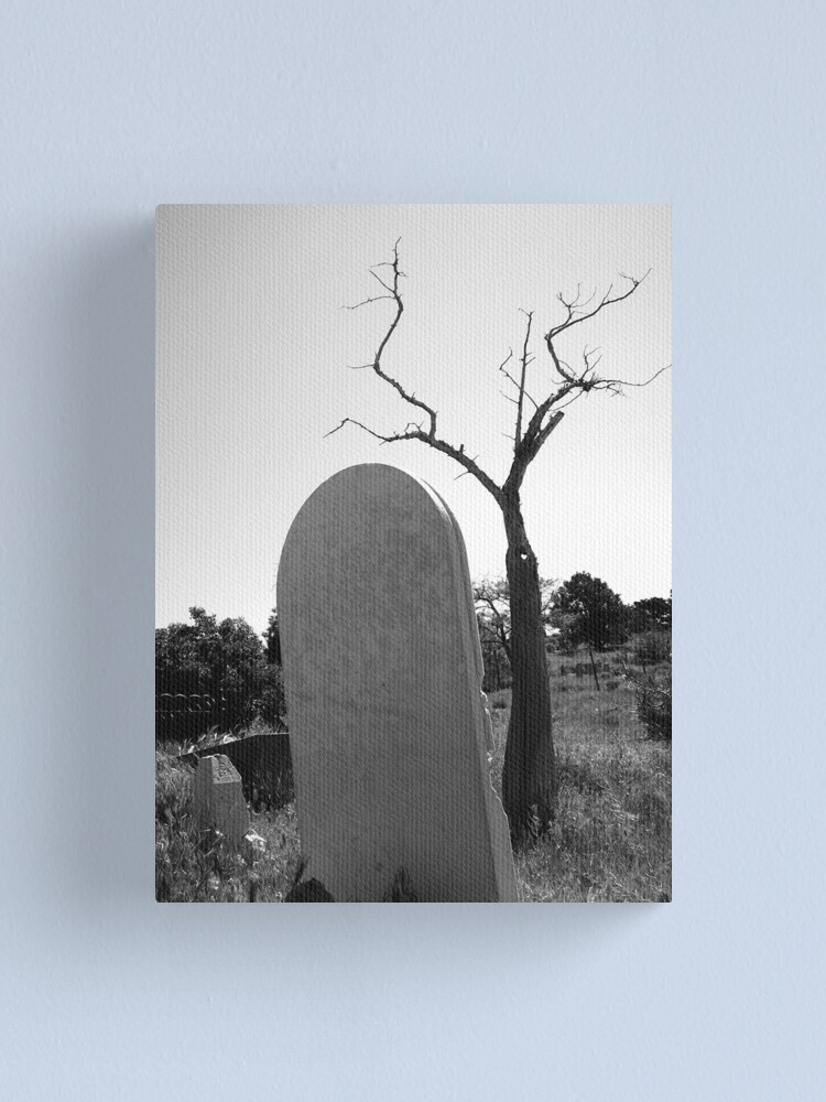 Alternate view of Tombstone Tree Canvas Print