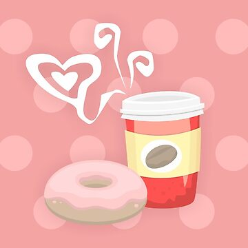 Morning glory, coffee & donuts by TICS