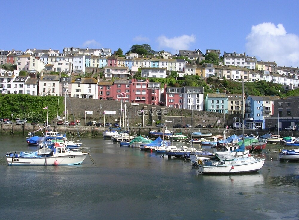 Brixham Harbour, Devon (2) by lezvee