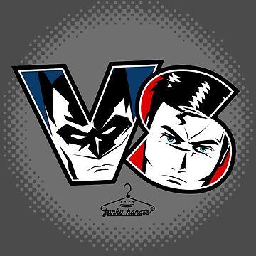 Bat Vs Super by funkyhanger