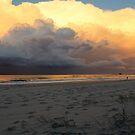 Sunset beach by Annie Smit