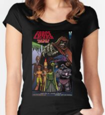 Force Galaxia: Cosmic Tales of Adventure Fitted Scoop T-Shirt
