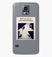 Rock Climbing and Mountaineering Case/Skin for Samsung Galaxy