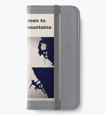 Rock Climbing and Mountaineering iPhone Wallet/Case/Skin