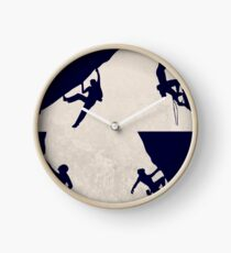 Rock Climbing and Mountaineering Clock