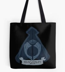 Stylized Deathly Hallows Tote Bag