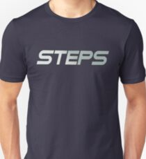 Steps Silver Unisex T-Shirt
