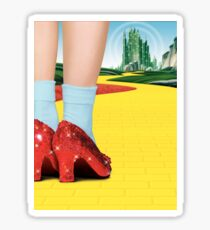 The Wizard of Oz - Dorothy's Red Shoes Sticker