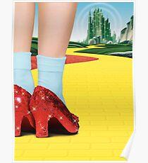 Póster El Mago de Oz - Los zapatos rojos de Dorothy