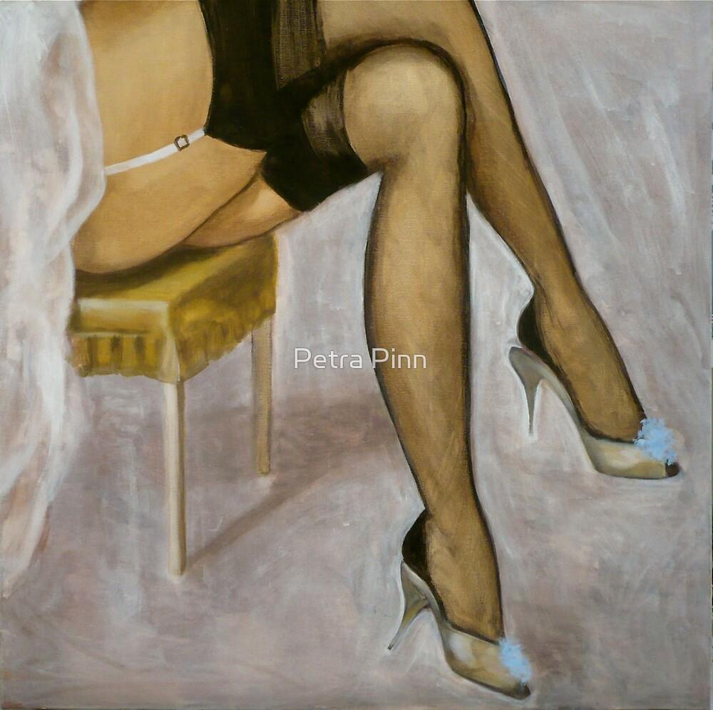 sitting naughty by Petra Pinn