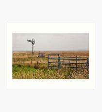 Rural Scene  Art Print