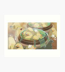 Spirited Away Duck Bath Art Print