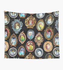Budgies in Hats Wall Tapestry