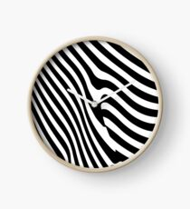 Zebra Boutique  Clock