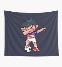 Fußball-Junge, der USA taucht Wandbehang