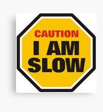 Traffic Sign Canvas Print