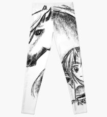 Link & Epona Sketch Leggings